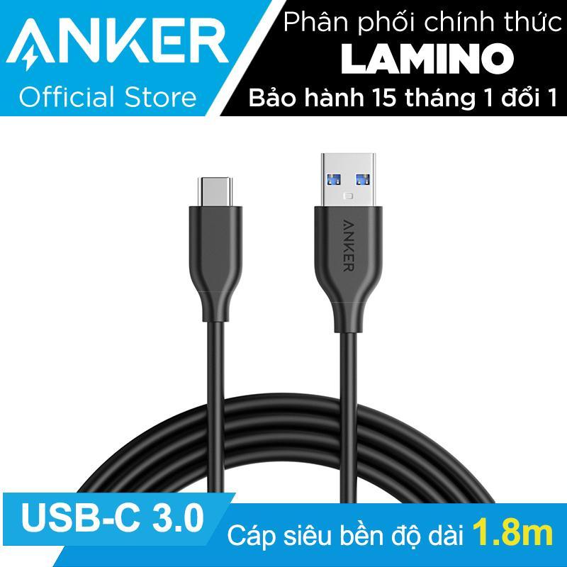 Cap Sieu Bền Type C Anker Powerline Usb C To Usb 3 Dai 1 8M Đen Hang Phan Phối Chinh Thức Anker Chiết Khấu 50