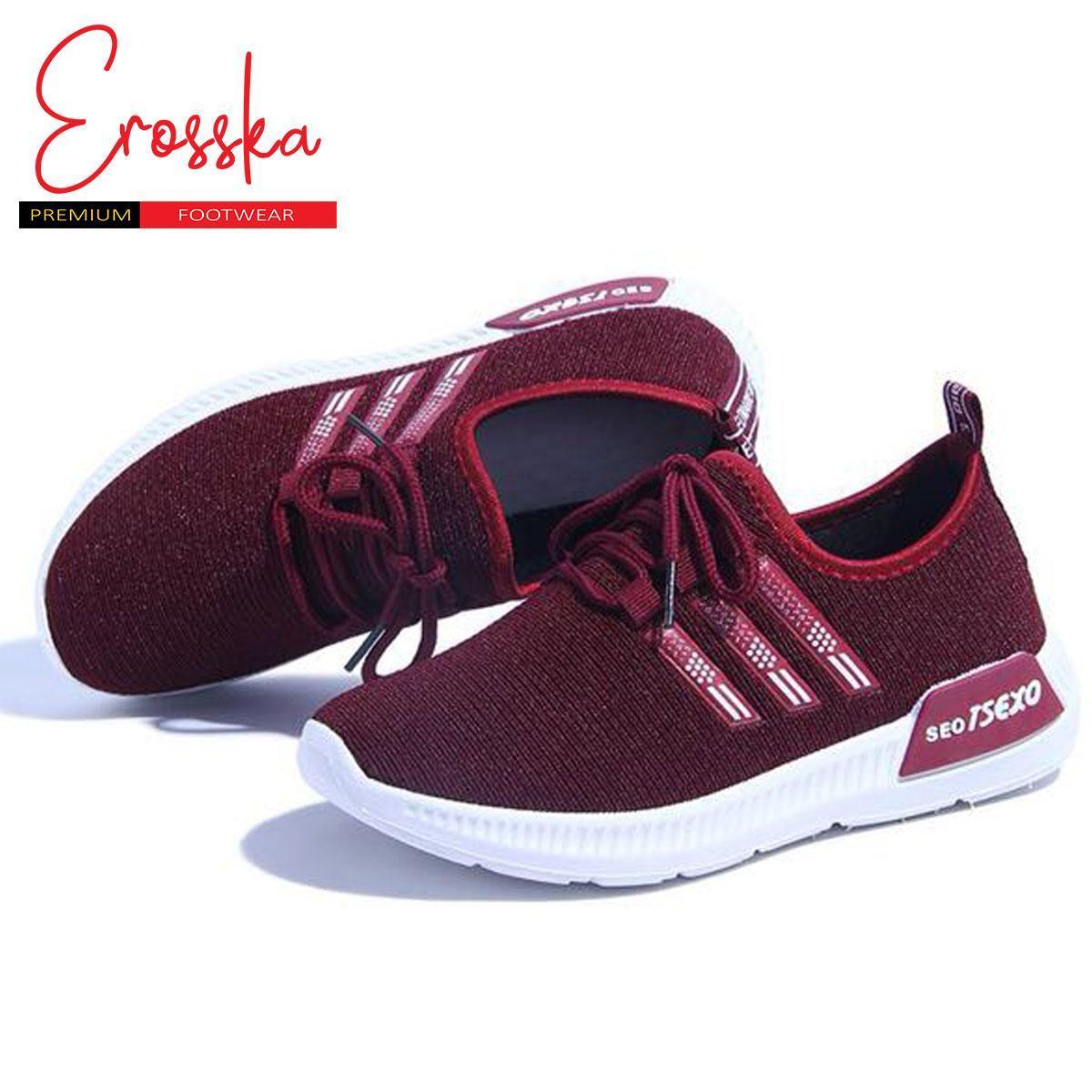 Giày Sneaker Nữ Thời Trang Erosska - GN036 (Đỏ)