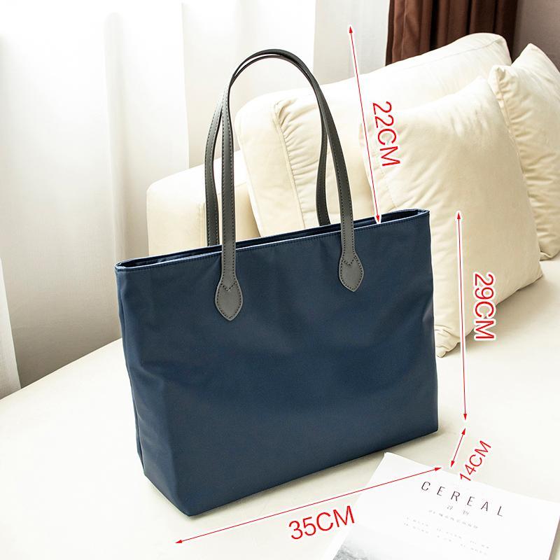 2019 Xinjianyue Canvas Bag Tote Bag Nylon Bag Handbag Large Capacity Bag Shoulder Bag Female Large Bag