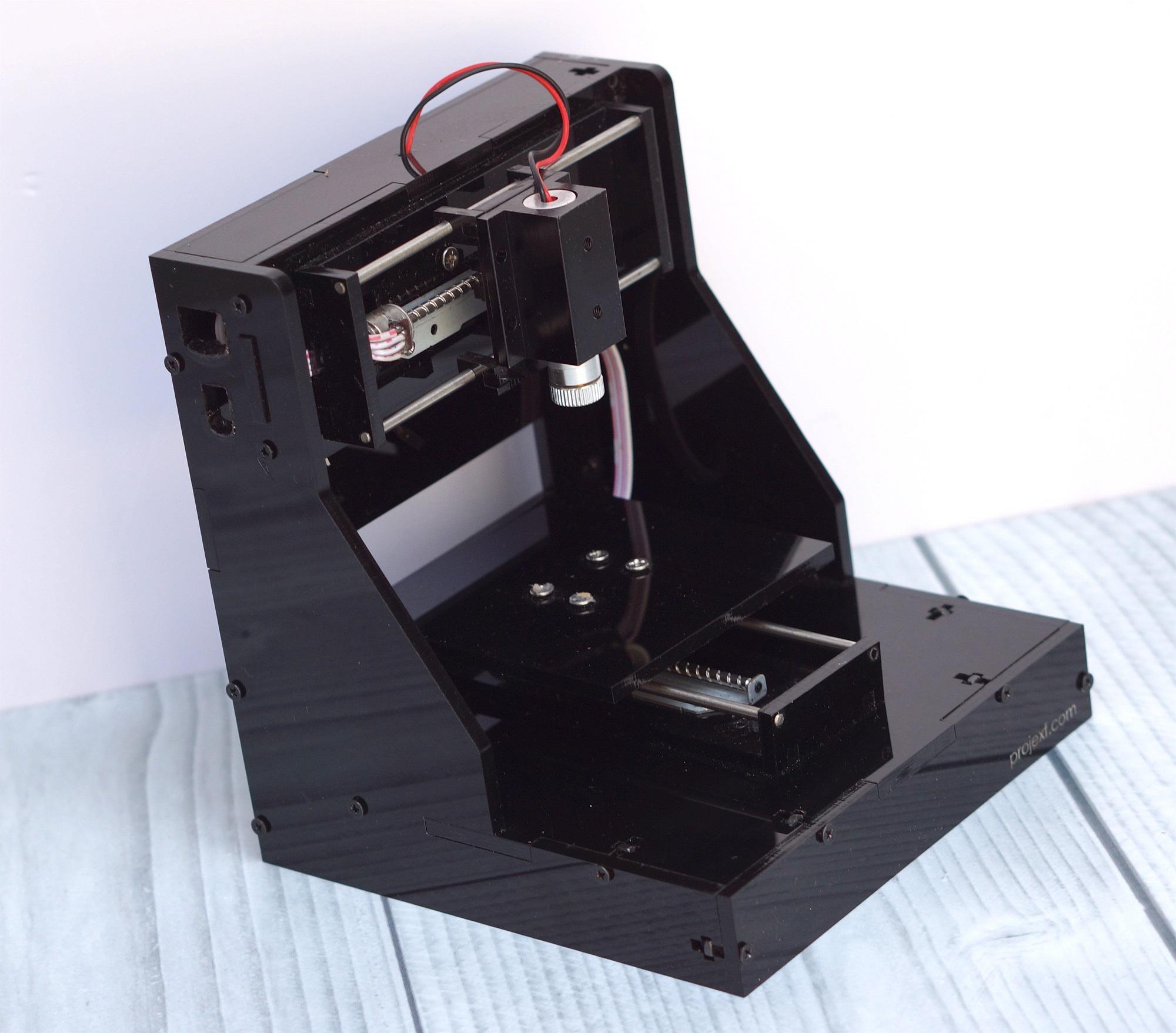 Hình ảnh Máy khắc laser mini Lunalaser - Khắc giấy, các vật dụng bằng gỗ..