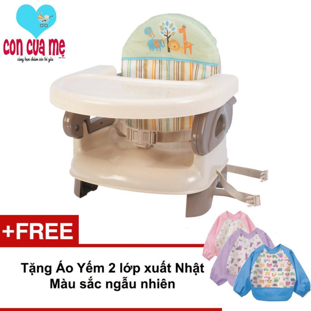 Chiết Khấu Ghế Ăn Summer Sm13050 Deluxe Tặng Ao Yếm Cao Cấp Xuất Nhật Mau Sắc Ngẫu Nhien Summer Infant