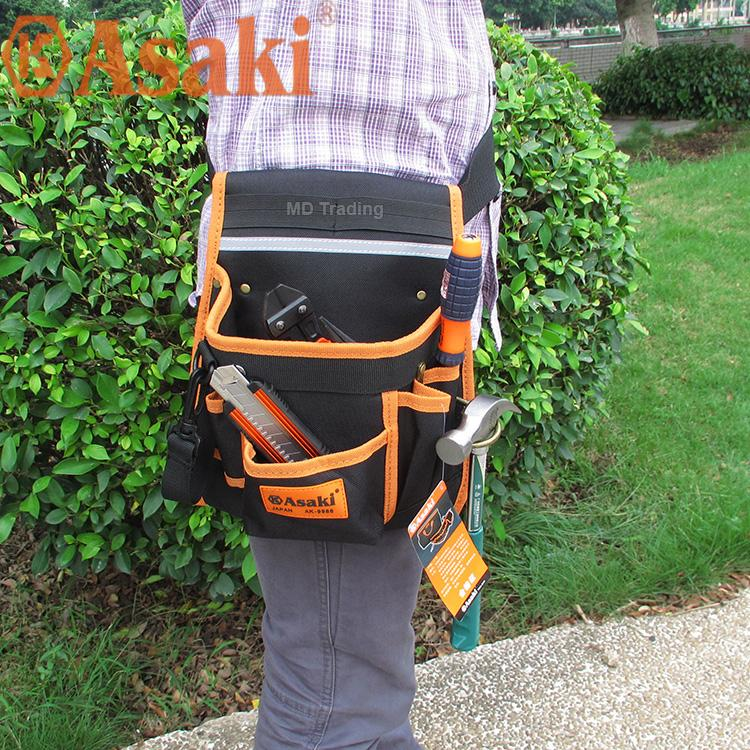 Túi đeo thắt lưng đựng đồ nghề Asaki AK-9986