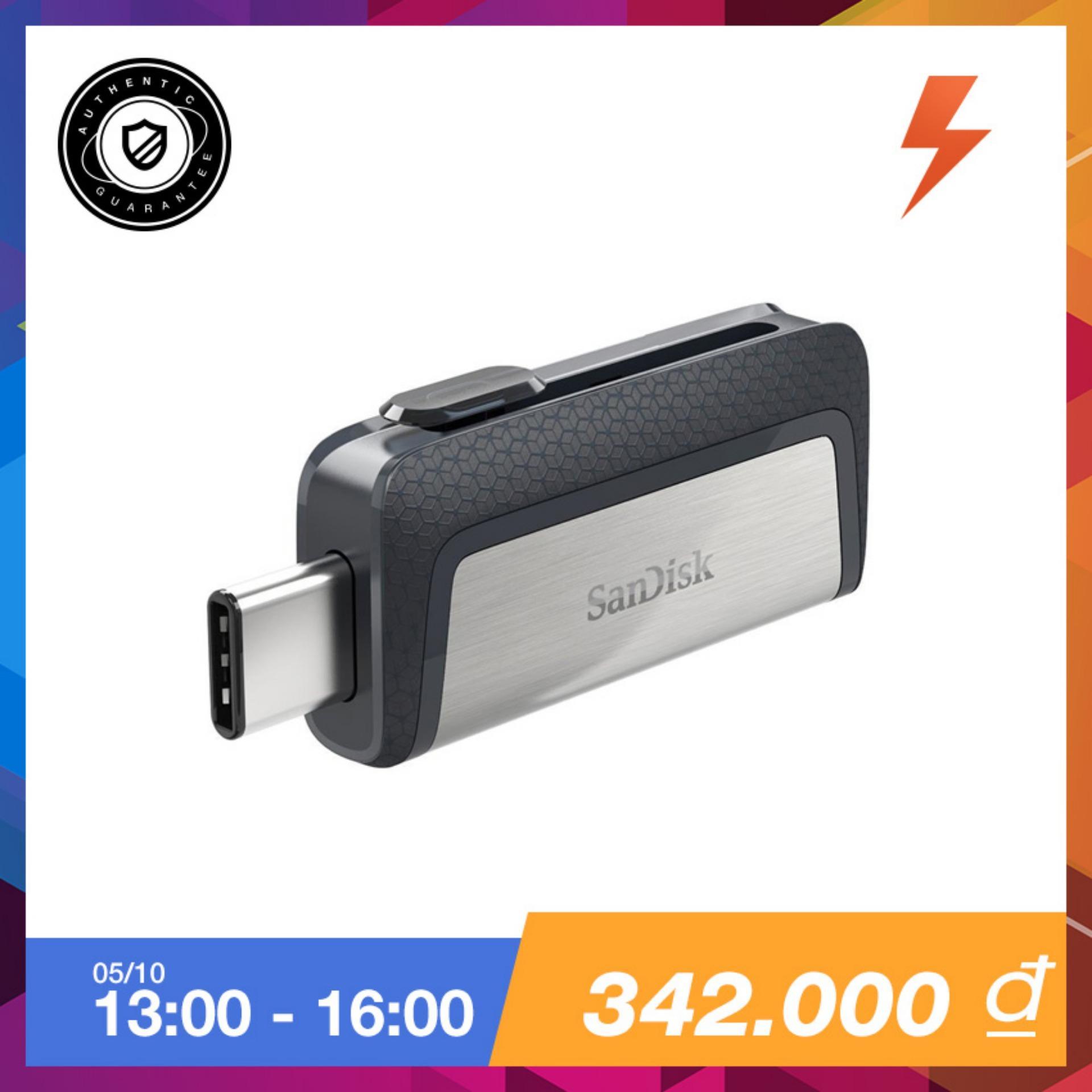 Usb Sandisk Ddc2 Ultra Dual Drive Usb Type C 32Gb Bạc Hang Phannphối Chinh Thức Rẻ