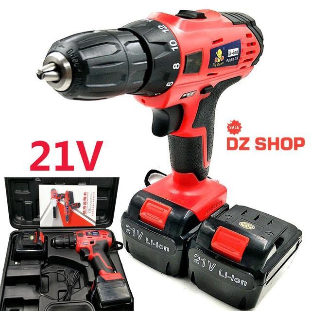 gia may khoan -mua ngay, MÁY KHOAN PIN VOTO 21V-đa năng,tiện lợi,dễ dàng sử dụng,DZS66 -cung cấp và bảo hành uy tín 1 đổi 1 toàn quốc  bởi DZ SHOP