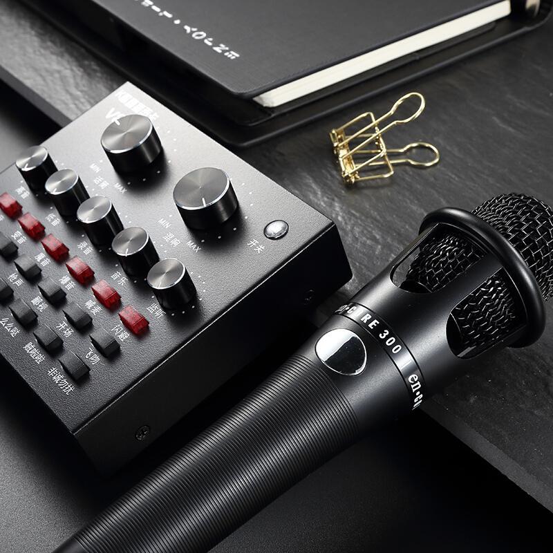 Hình ảnh Sound Card Thu Âm Hát Karaoke V8