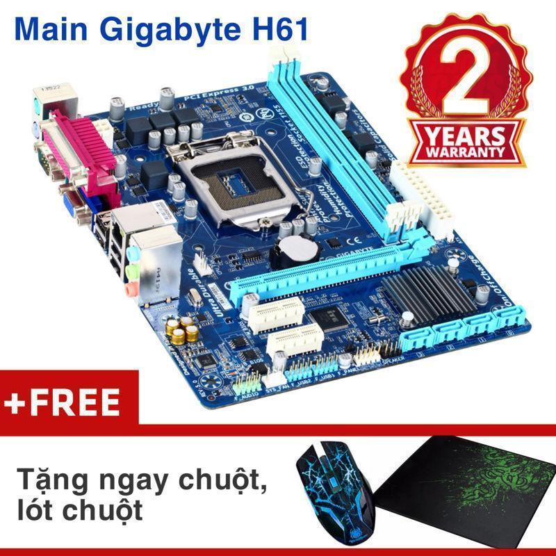 Hình ảnh Bảng mạch chính Gigabyte H61M-DS2 Nhập khẩu - Khuyến chuột wifi