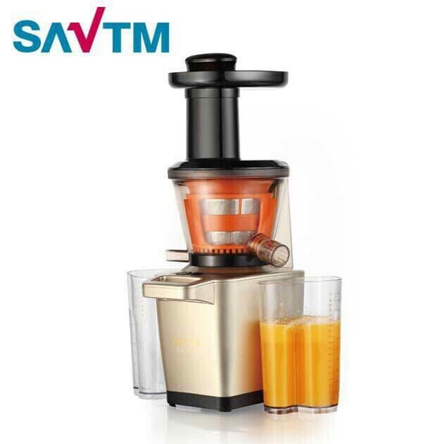 Hình ảnh Máy Ép Chậm Giàu Vitamin SAVTM New Version 2018 công suất lớn 250W Model JE220 (trục ép kèm dao cắt)