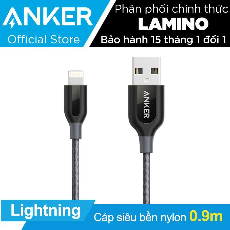 Bán Mua Cap Sieu Bền Nylon Anker Powerline Lightning Dai 9M Cho Iphone Ipad Khong Bao Da Hang Phan Phối Chinh Thức Mới Hồ Chí Minh
