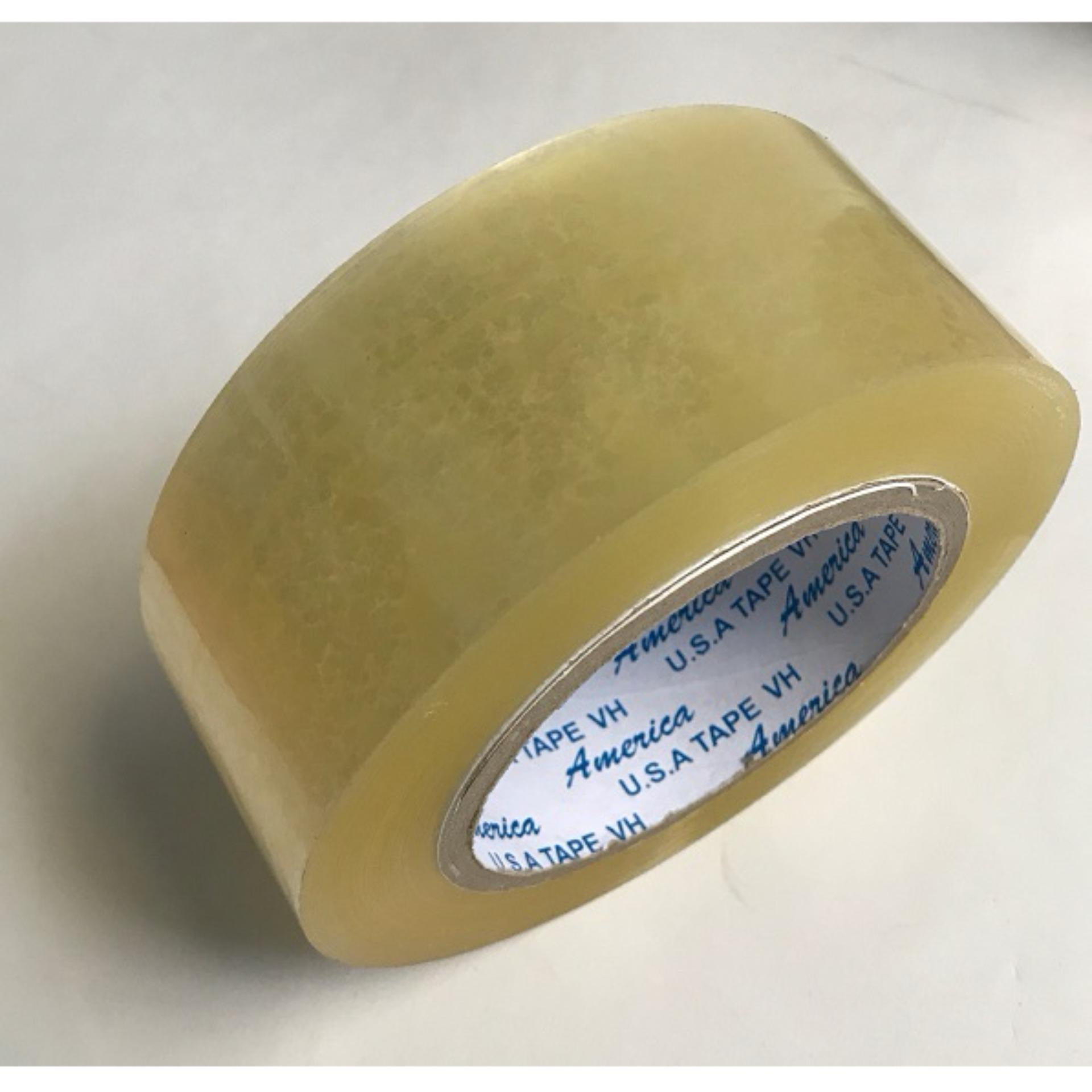 Mua 6 Cuộn Băng Keo Dán Thùng Trong (Đục) 200Y, TL 1.8kg/ cây