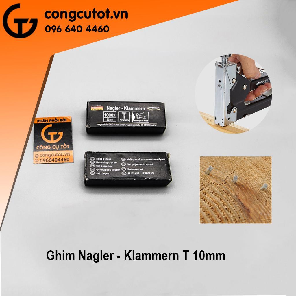 Hình ảnh Ghim bấm gỗ T 10mm với 1000 kim