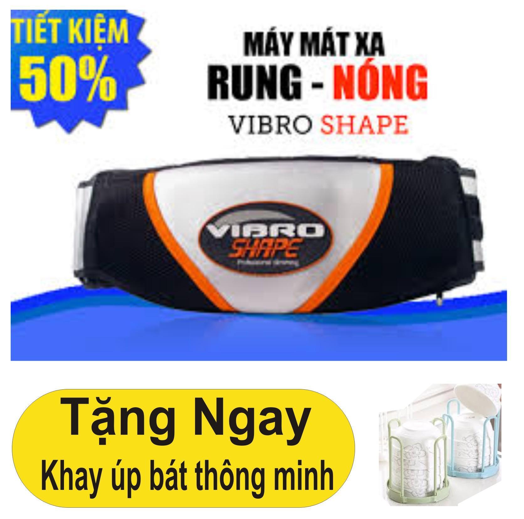 Đai Massa Nong Va Rung Giảm Mỡ Bụng Hiệu Quả Tặng Khay Up Bat Thong Minh Oem Chiết Khấu