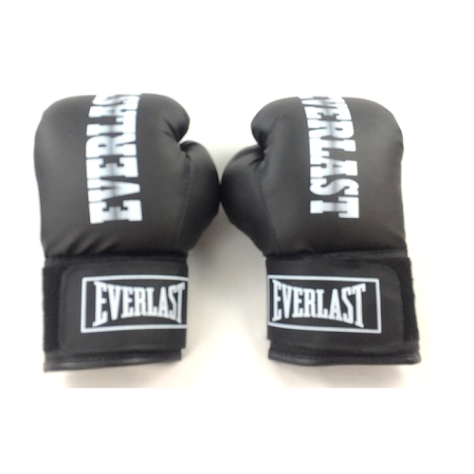 Hình ảnh Găng đấm boxing Everlast phucthanhsport (Đen)