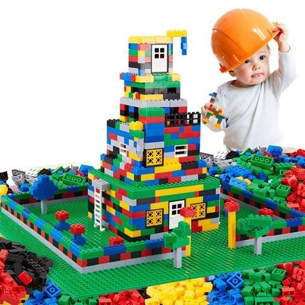 Hình ảnh Bộ lego cho bé 1000 chi tiết