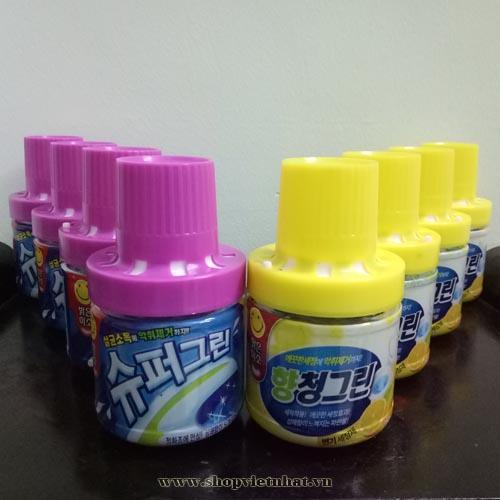 Hình ảnh Combo 4 chai thả bồn cầu Hàn Quốc