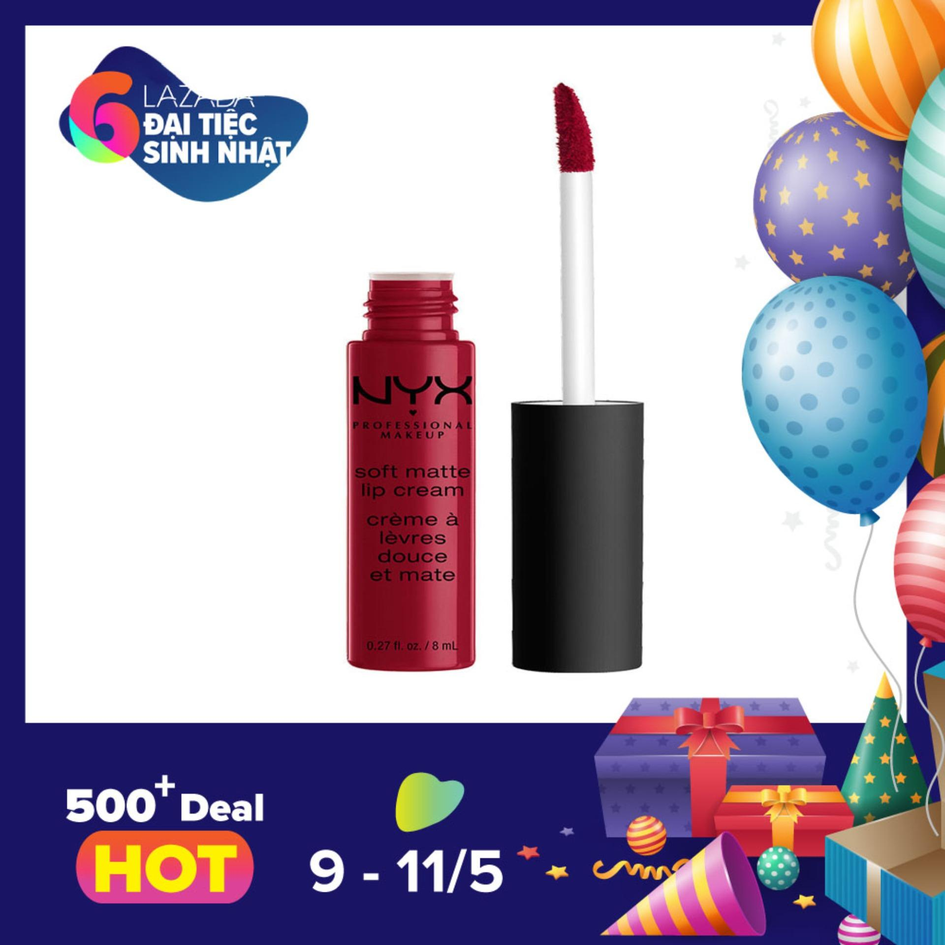 Chiết Khấu Son Kem Nyx Professional Makeup Soft Matte Lip Cream Smlc10 Monte Carlo Việt Nam