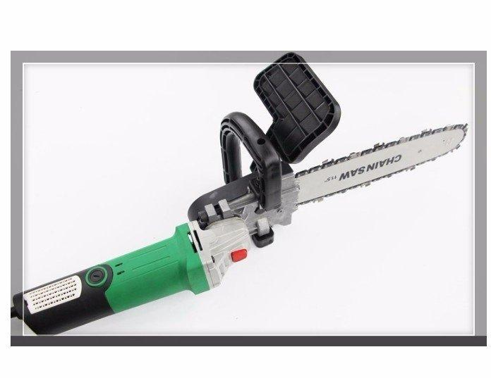 Bộ chuyển đổi máy mài góc thành máy cưa xích câm tay( dùng cho máy mài 100mm)
