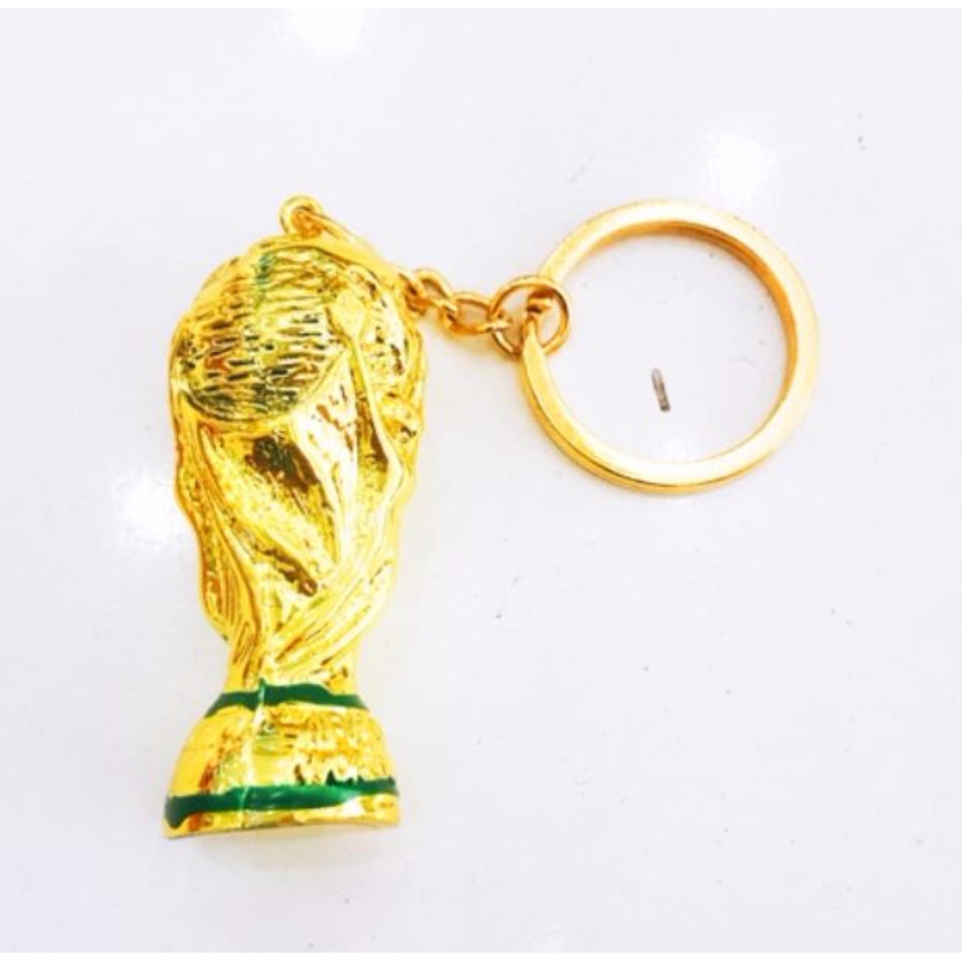 Móc đeo chìa khóa hình cúp bóng đá