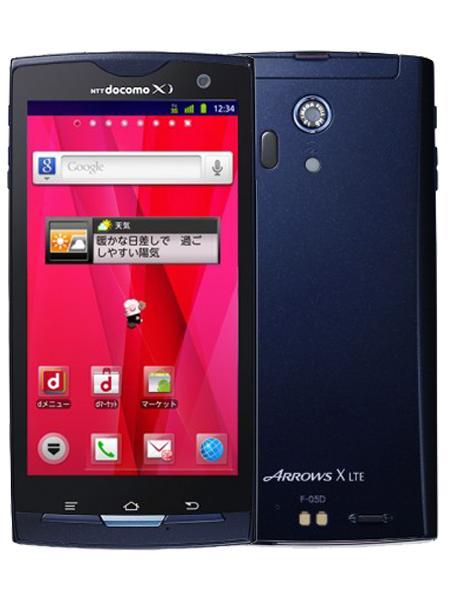 Hình ảnh Điện Thoại Smartphone Docomo F05D made in Japan ( Kiêm bộ phát wifi cho 10 Máy ) Màu Đen (100% nhập Nhật - Kháng nước)