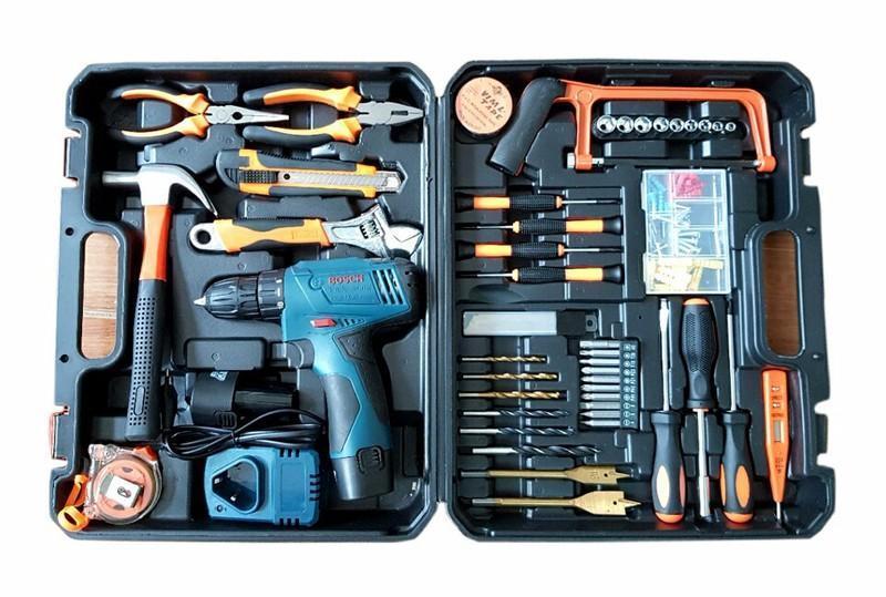 máy khoan pin Bosch kèm bộ phụ kiện hơn 40 chi tiết