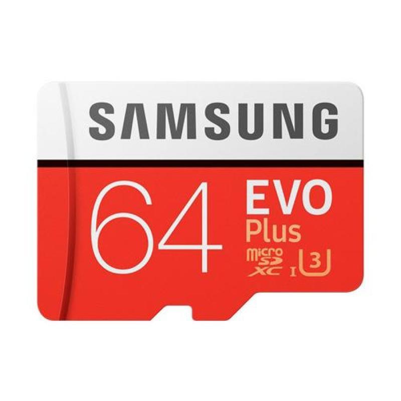 THẺ NHỚ Micro SDXC 64GB Samsung EVO plus U3 100MB/S 4K