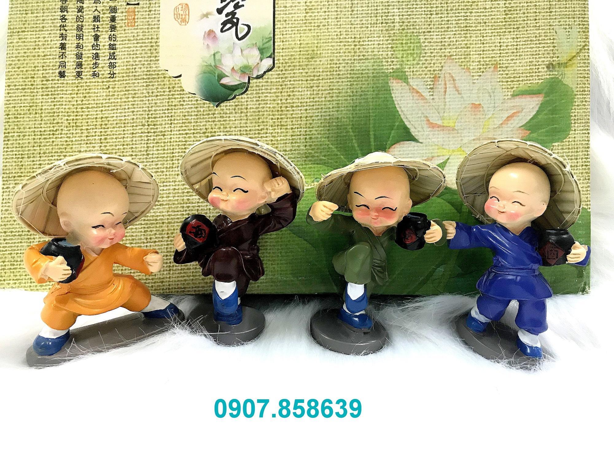 Mua chú tiểu túy quyền nón lá gốm cao cấp ( hàng đẹp độc quyền )