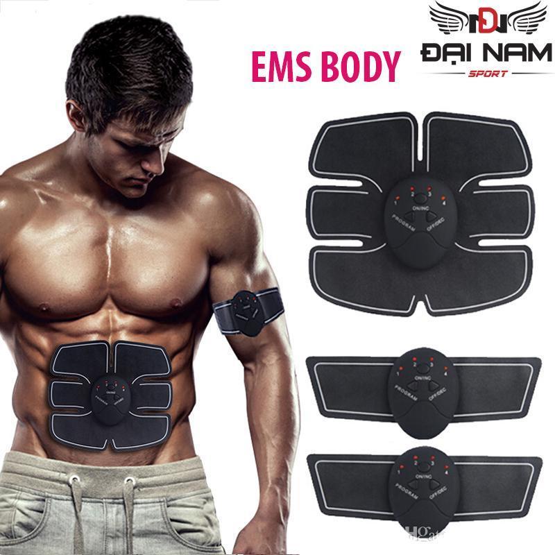 Bảng giá Máy massage xung điện 3 miếng dán đánh tan mỡ thừa EMS Body