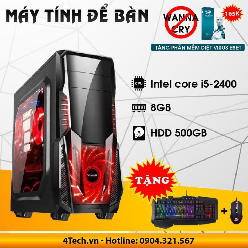 Hình ảnh Máy Tính Để Bàn Intel Core i5 2400, RAM 8GB, HDD 500GB.