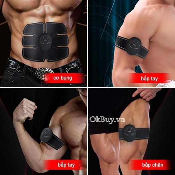Bộ 3 máy massage tập cơ bụng 6 múi EMS Body