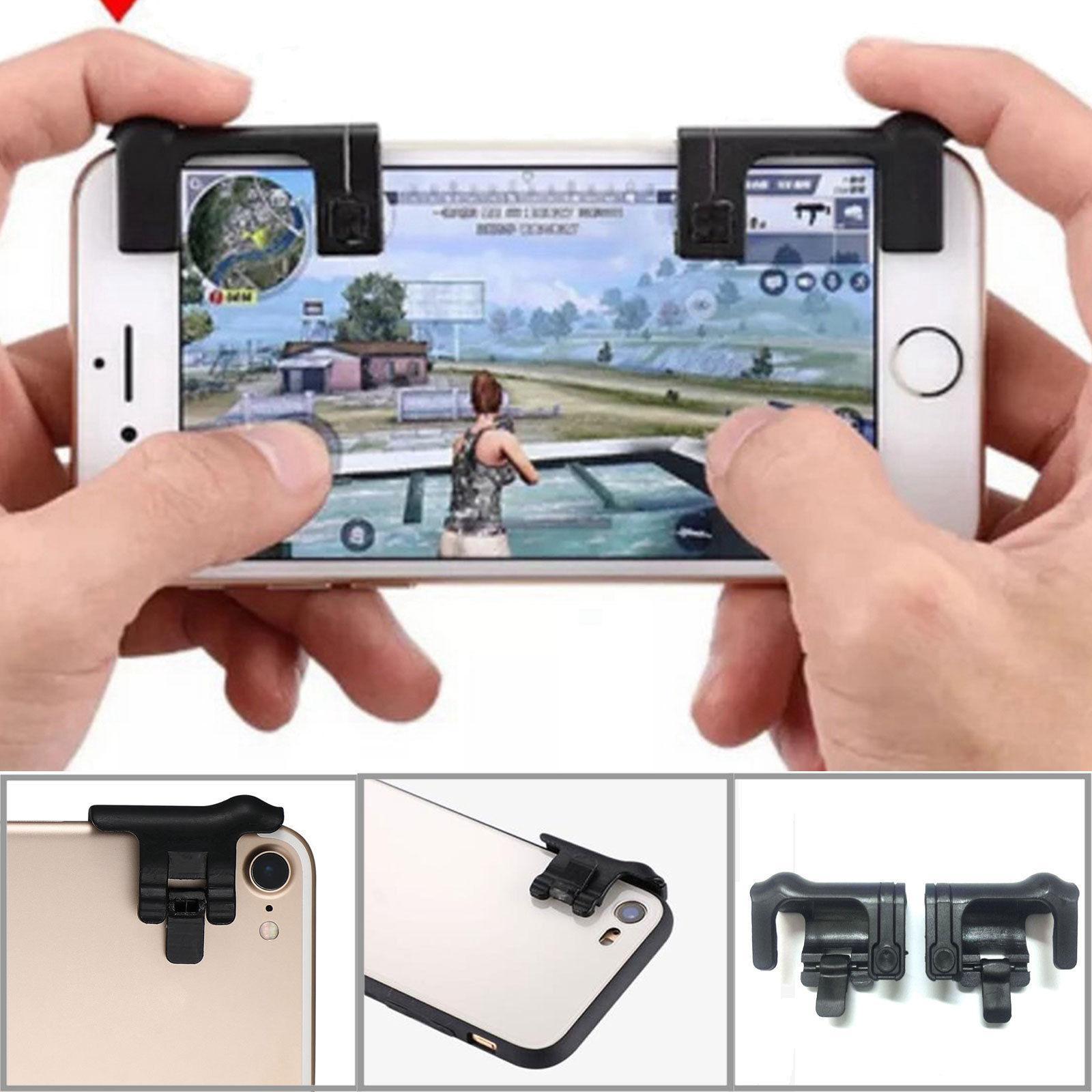 Nút phụ cho điện thoại L1R1 hỗ trợ chơi game PUBG Rules of Survival mobile