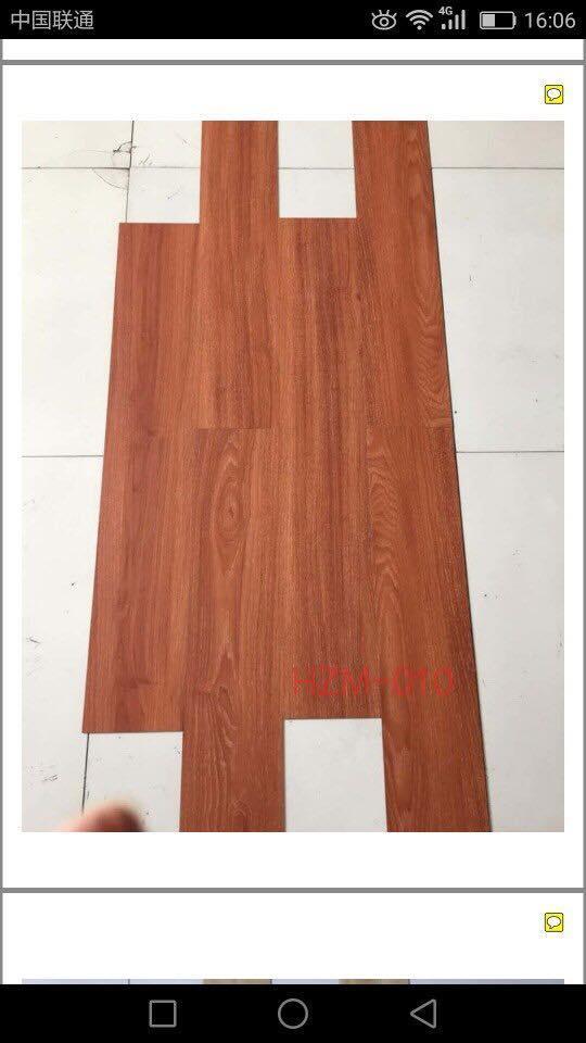 Hình ảnh combo 5 Ván sàn nhựa giả vân gỗ thông minh mẫu 010