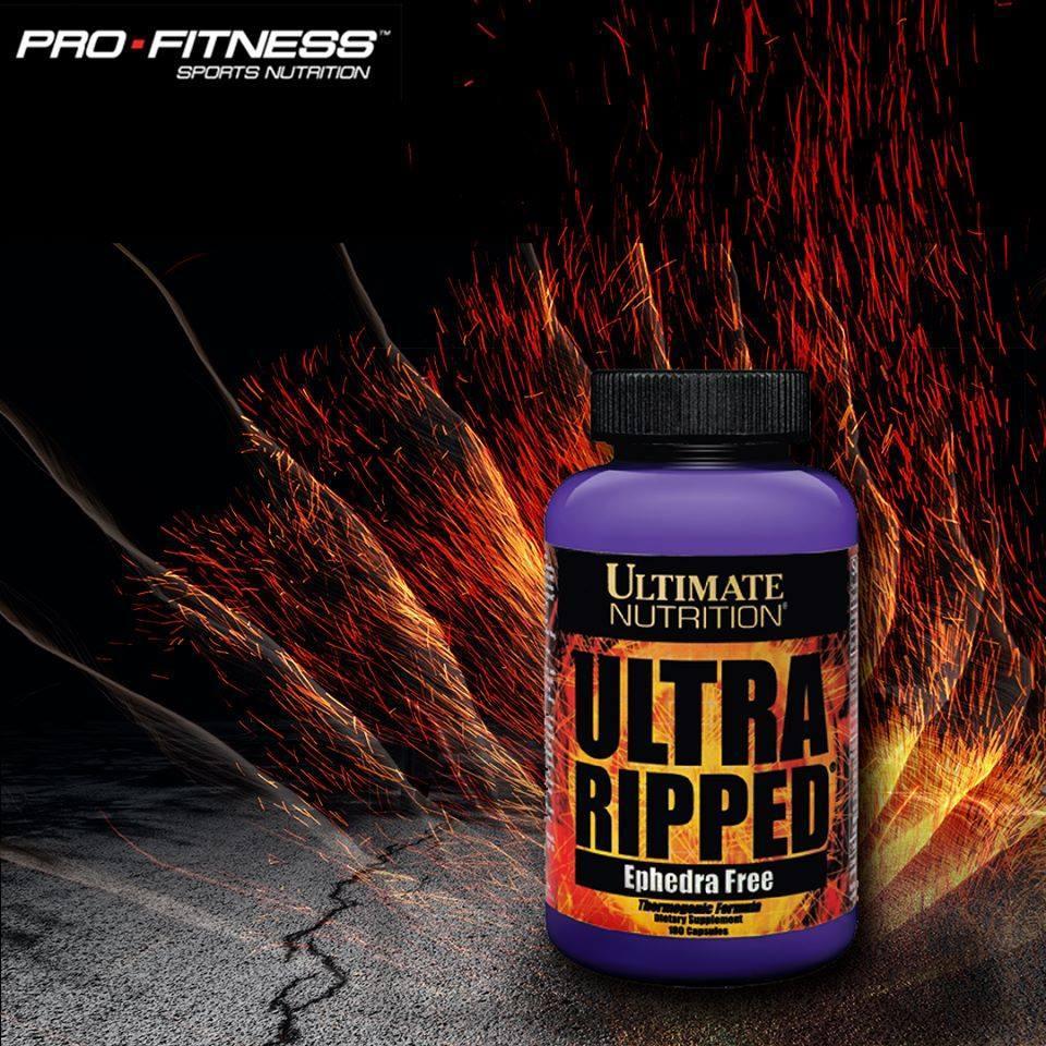 Viên uống giảm mỡ Ultra Ripped (90caps)