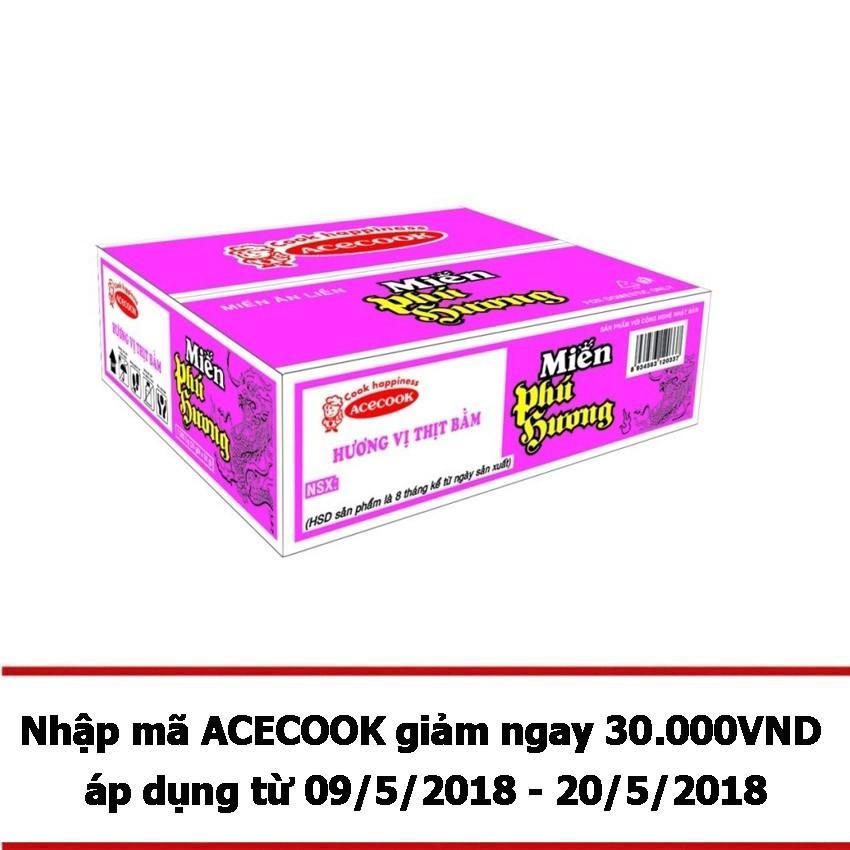 Bán Thung 24 Goi Miến Phu Hương Vị Thịt Bằm 58G