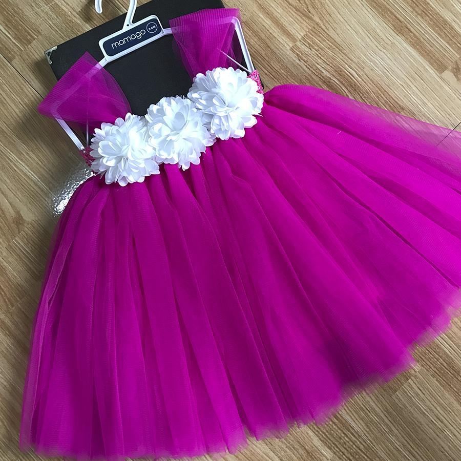 Giá bán Đầm công chúa hồng 10h xù trắng