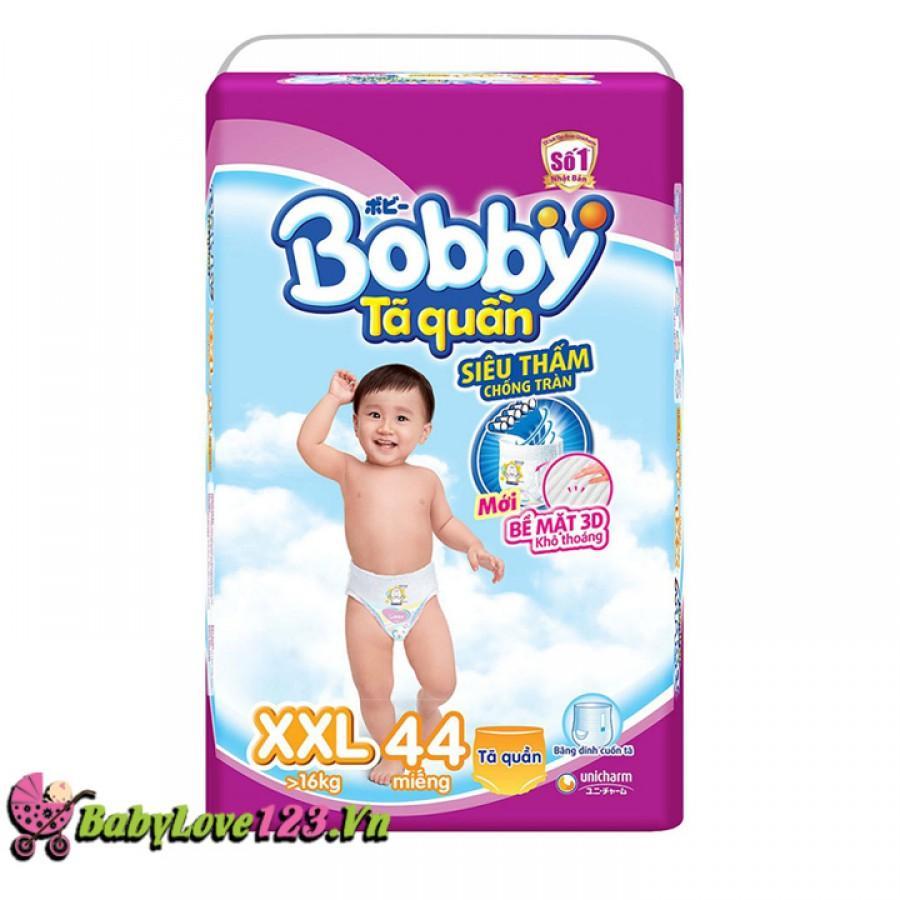 Giá Bán Ta Quần Bobby Size Xxl 44 Miếng Cho Be Tren 16 Kg Bobby Tốt Nhất