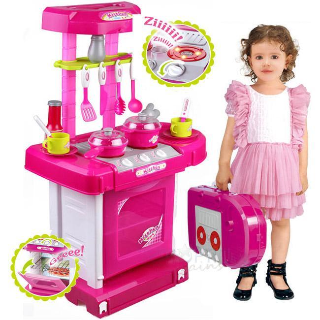 Hình ảnh Bộ đồ làm bếp - Đồ chơi nấu ăn siêu đẹp cho bé