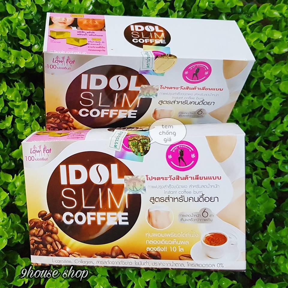 Mã Khuyến Mại Ca Phe Idol Slim Thai Lan Ca Phe Hoa Tan Giảm Can Idol Slim Mới Nhất