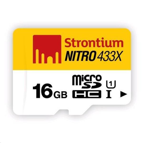 Thẻ nhớ MicroSDHC Strontium Nitro 16GB class 10 tốc độ 433x