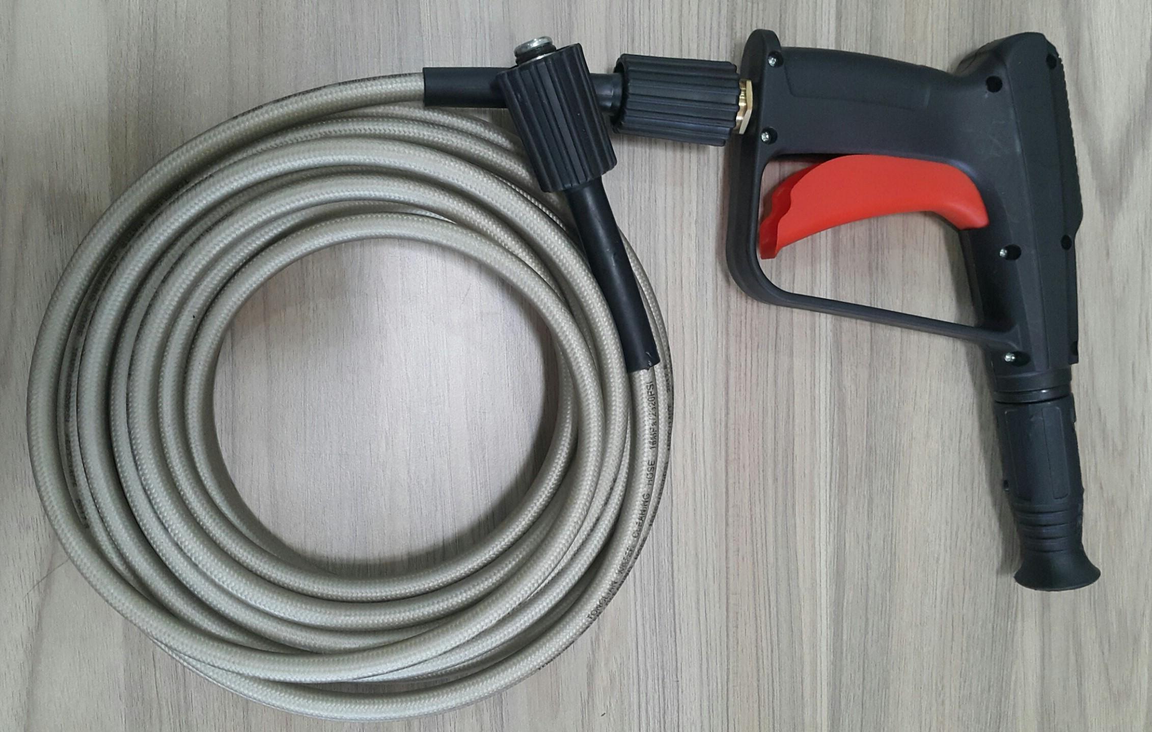 Hình ảnh Dây và Súng xịt áp lực có thể chỉnh nhiều tia dùng cho máy xịt Makita, Black Decker, Bosch, Stanley..