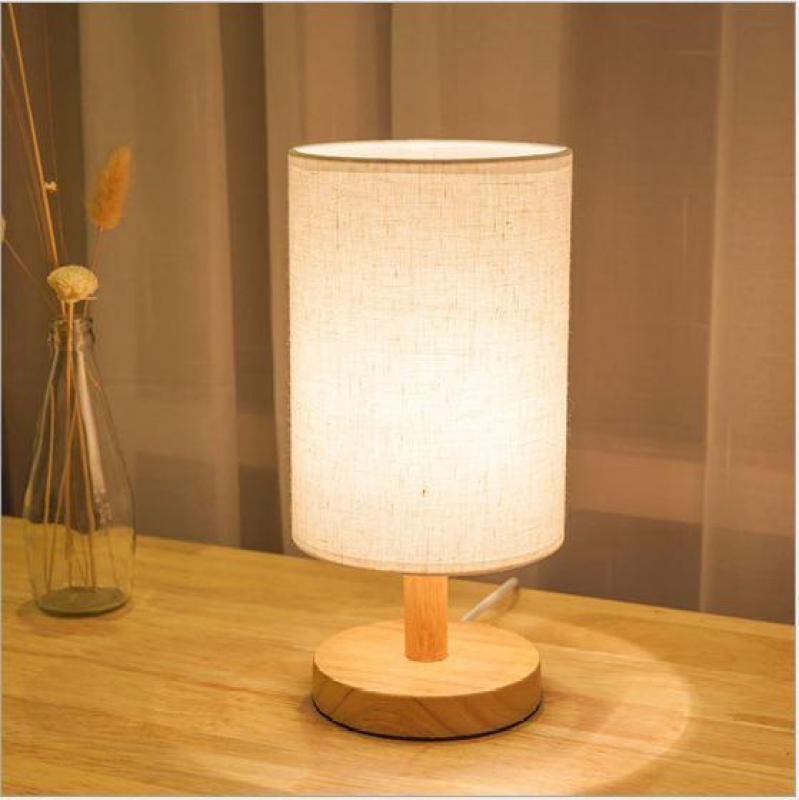 Bảng giá Đèn trang trí phòng ngủ cao cấp Vintage gỗ - Tặng kèm bóng LED chuyên dụng