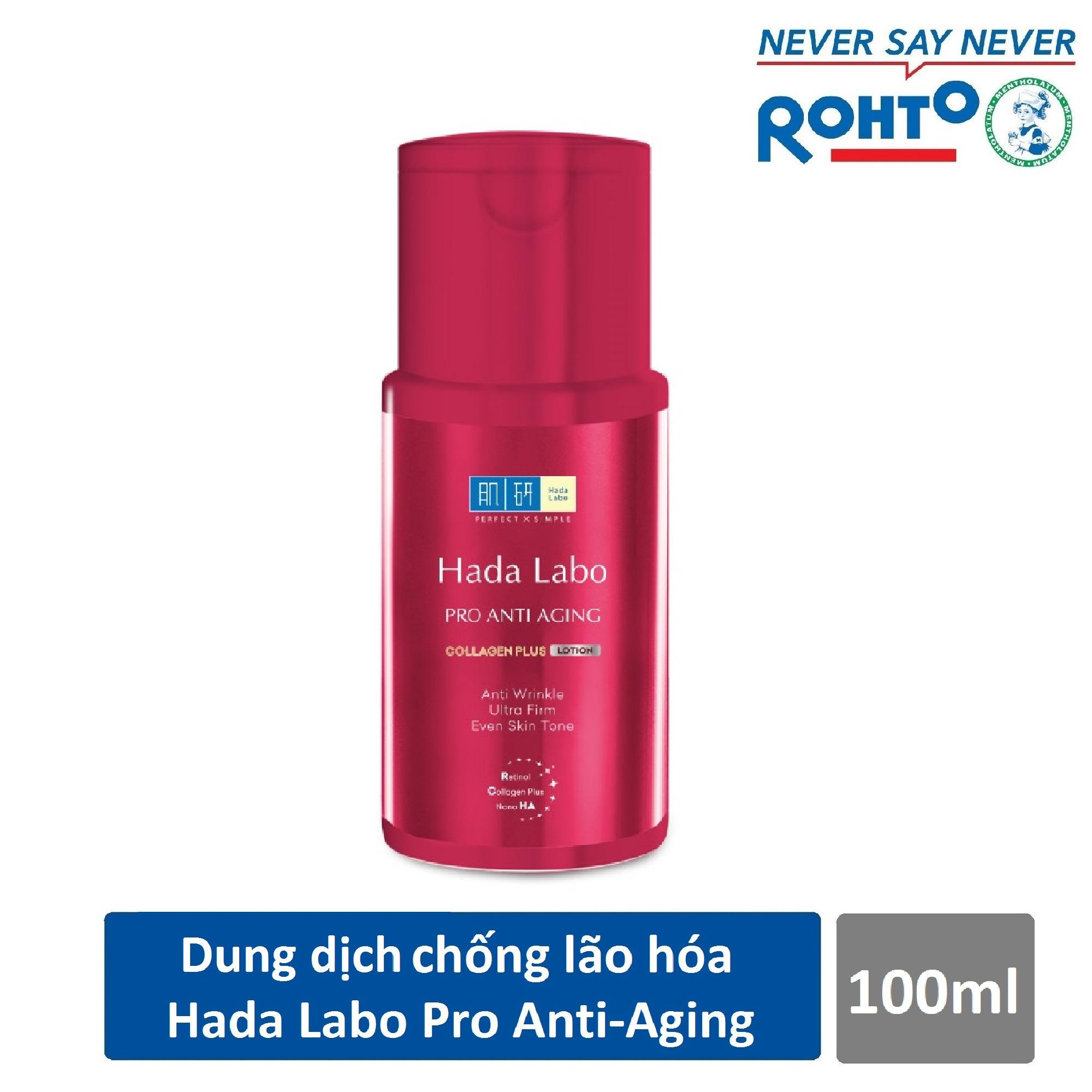 Bán Dung Dịch Dưỡng Chuyen Biệt Chống Lao Hoa Hada Labo Pro Anti Aging Lotion 100Ml Nguyên
