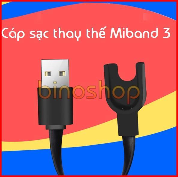 Hình ảnh Dây sạc thay thế cho xiaomi Miband 3