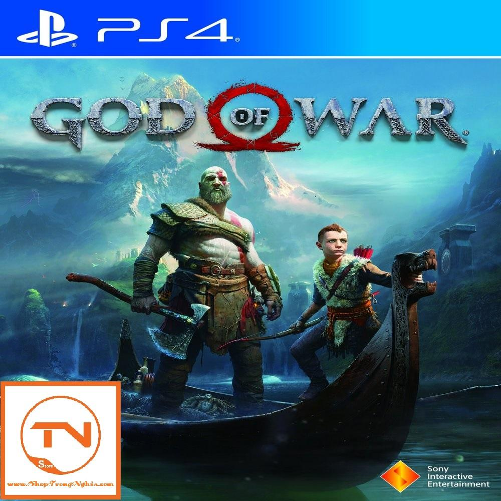 Bán Đĩa Game Ps4 God Of War 4 Hệ Us Sony Entertainment