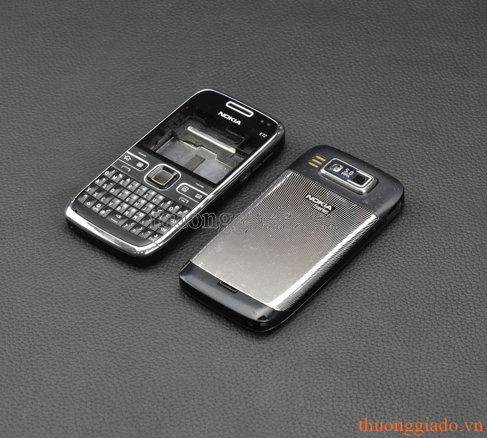 Hình ảnh Bộ Vỏ và phím cho Nokia E72- Đen
