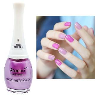 Sơn móng tay siêu sang chảnh Aroma Nails Lacquer Cao cấp Hàn Quốc No.58 (Tím hồng) 12ml thumbnail