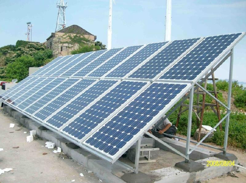 Hình ảnh Hệ thống pin năng lượng mặt trời hòa lưới 10Kwp 3 pha