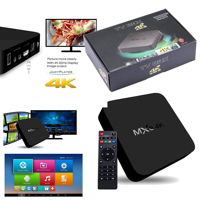 Hình ảnh Android Box MXQ 4k - Biến Tivi Thường Thành Smart Tivi