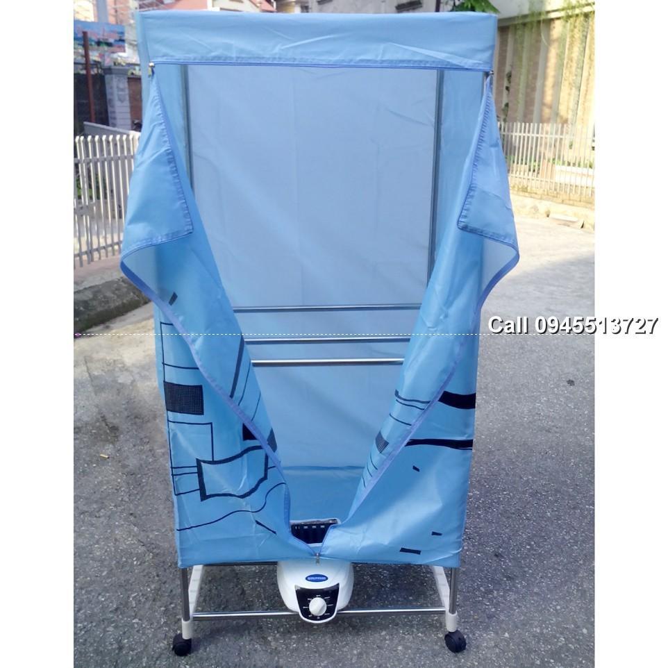 Hình ảnh Bảo Hành 12Tháng Tủ sấy máy sấy quần áo SamsSung DH X816R cơ thẳng
