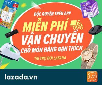 Hướng dẫn mua hàng online miễn phí vận chuyển trên Lazada