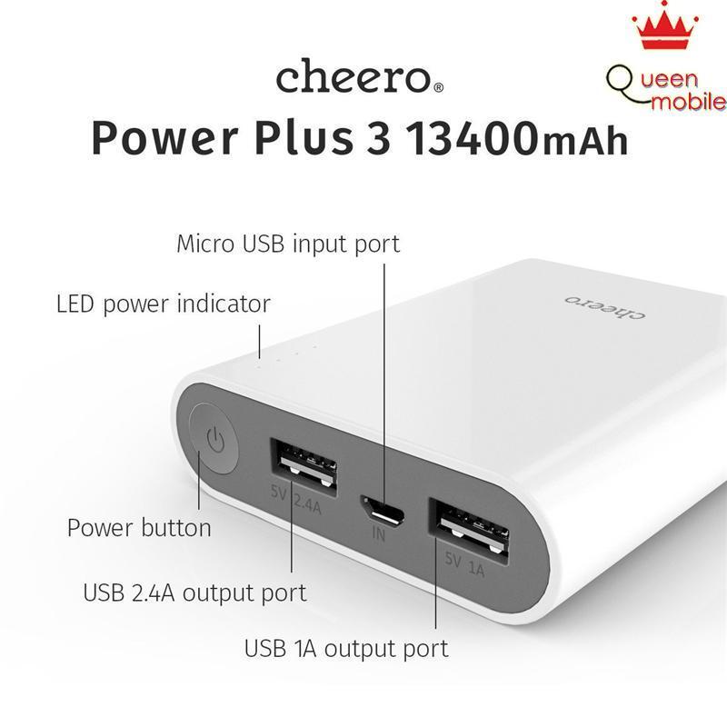 Pin sạc dự phòng Nhật Bản bền đẹp cheero Power Plus 3 CHE-059 (13400 mAh) – Review và Đánh giá sản phẩm