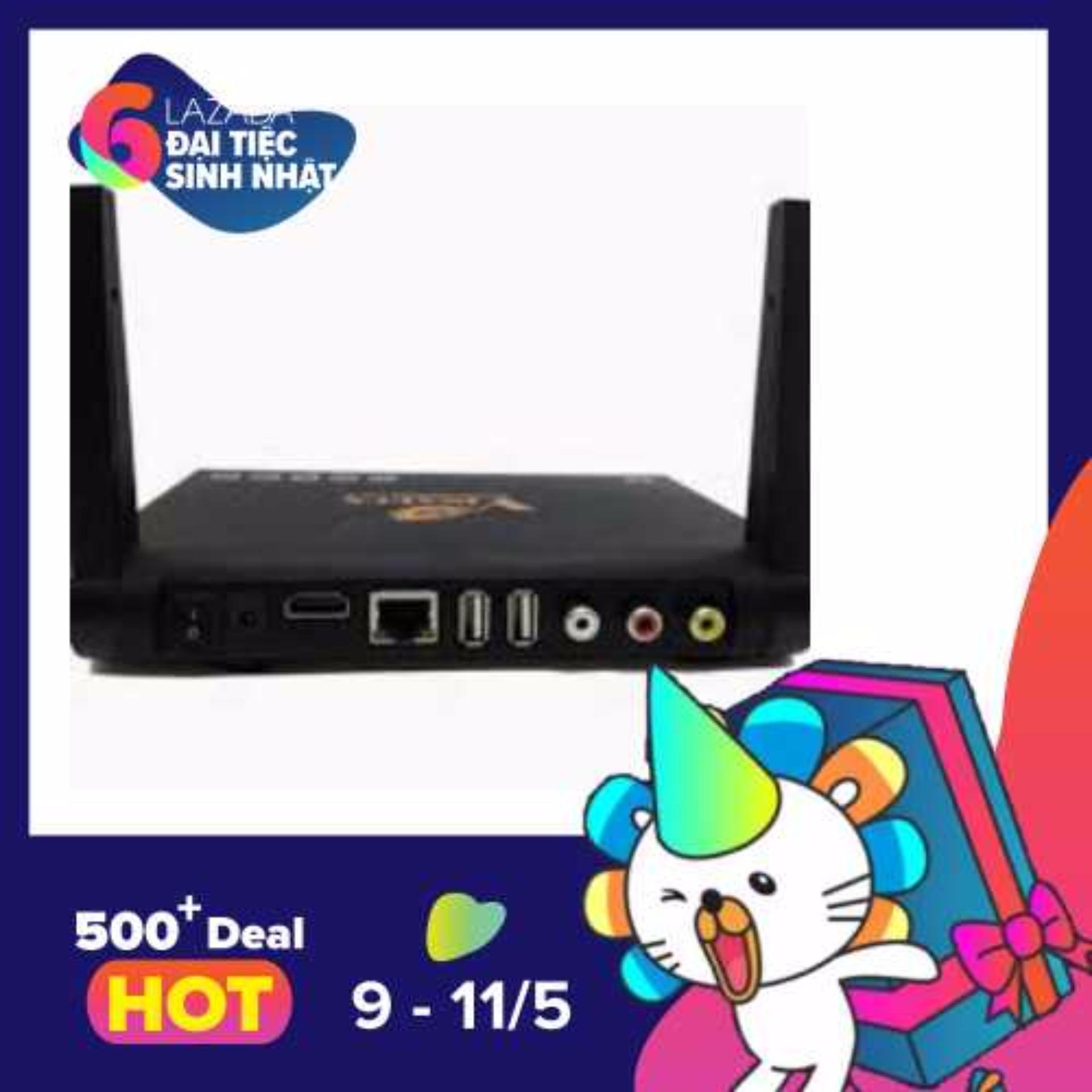 Bán Android Tv Box Vinabox X9 Ram 2G Androi 6 Kem Chuột Khong Day Trị Gia 180K Trực Tuyến Hà Nội
